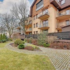 Апартаменты Dom & House Apartments Monte Cassino - Chopina Сопот вид на фасад