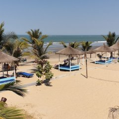 Djeliba Hotel in Kololi, Gambia from 201$, photos, reviews - zenhotels.com beach photo 2