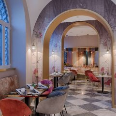 Отель Nh Collection Roma Fori Imperiali Рим гостиничный бар