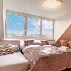 Отель SKY9 Penthouse Apartments Австрия, Вена - отзывы, цены и фото номеров - забронировать отель SKY9 Penthouse Apartments онлайн комната для гостей фото 4