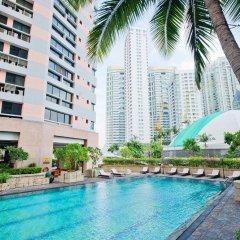 Отель President Park - Ebony Towers - unit 11A Бангкок бассейн фото 2