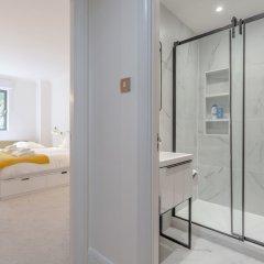 Отель Central London 1 Bedroom Flat With Spa Access Великобритания, Лондон - отзывы, цены и фото номеров - забронировать отель Central London 1 Bedroom Flat With Spa Access онлайн ванная