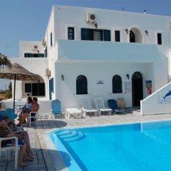 Отель Anemos Studios Греция, Остров Санторини - отзывы, цены и фото номеров - забронировать отель Anemos Studios онлайн бассейн фото 2
