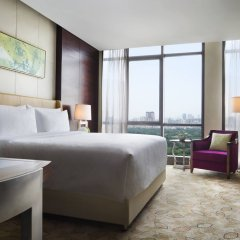 Отель JW Marriott Hotel Shenzhen Китай, Шэньчжэнь - отзывы, цены и фото номеров - забронировать отель JW Marriott Hotel Shenzhen онлайн комната для гостей фото 2