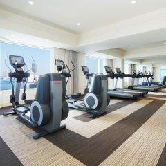 Отель Intercontinental Tokyo Bay Токио фитнесс-зал