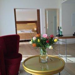 Отель Aqua Aurelia Suitenhotel Германия, Баден-Баден - 1 отзыв об отеле, цены и фото номеров - забронировать отель Aqua Aurelia Suitenhotel онлайн комната для гостей фото 5