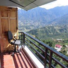Отель Sapa Eden View Hotel Вьетнам, Шапа - отзывы, цены и фото номеров - забронировать отель Sapa Eden View Hotel онлайн балкон