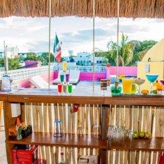 Отель Agavero Hostel Мексика, Канкун - отзывы, цены и фото номеров - забронировать отель Agavero Hostel онлайн бассейн фото 2