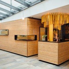 Отель arcona LIVING BACH14 Германия, Лейпциг - 1 отзыв об отеле, цены и фото номеров - забронировать отель arcona LIVING BACH14 онлайн интерьер отеля