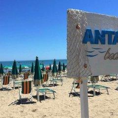 Hotel Antagos пляж