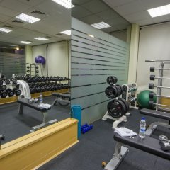 Апартаменты The Apartments Dubai World Trade Centre фитнесс-зал фото 4