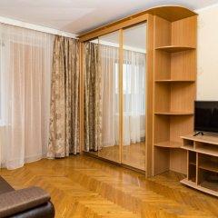 Апартаменты Moskva4you Тульская Москва комната для гостей фото 5