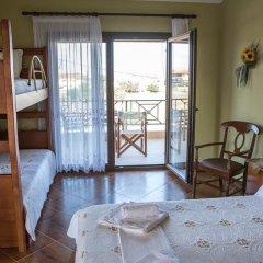 Отель Villa Doxa Греция, Ситония - отзывы, цены и фото номеров - забронировать отель Villa Doxa онлайн комната для гостей фото 3