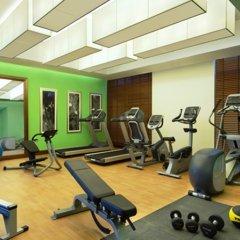 Отель Hilton Garden Inn Dubai Al Muraqabat Дубай фитнесс-зал фото 3