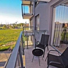 Апартаменты Grand Apartments - Bastion Wałowa Гданьск балкон