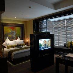 Отель Pudi Boutique Hotel Fuxing Park Shanghai Китай, Шанхай - отзывы, цены и фото номеров - забронировать отель Pudi Boutique Hotel Fuxing Park Shanghai онлайн комната для гостей фото 2
