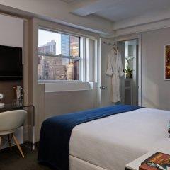 Отель Paramount Times Square 4* Номер Делюкс с двуспальной кроватью фото 6