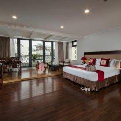 Отель Au Coeur dHanoi Boutique Hotel Вьетнам, Ханой - отзывы, цены и фото номеров - забронировать отель Au Coeur dHanoi Boutique Hotel онлайн комната для гостей фото 3