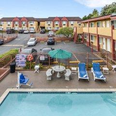 Отель Hollywood Inn Express South США, Лос-Анджелес - отзывы, цены и фото номеров - забронировать отель Hollywood Inn Express South онлайн бассейн фото 2