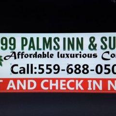 Отель 99 Palms Inn & Suites городской автобус