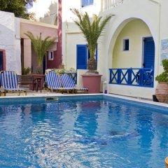 Отель Leta-Santorini Греция, Остров Санторини - отзывы, цены и фото номеров - забронировать отель Leta-Santorini онлайн бассейн фото 3