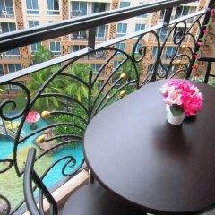 Отель Atlantis Condo Pattaya by Panissara Таиланд, Паттайя - отзывы, цены и фото номеров - забронировать отель Atlantis Condo Pattaya by Panissara онлайн балкон