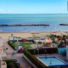 Hotel Apollo пляж