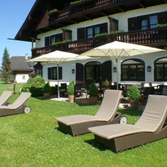 Отель Friesachers Aniferhof Аниф бассейн