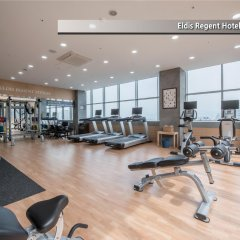 Отель Eldis Regent Hotel Южная Корея, Тэгу - отзывы, цены и фото номеров - забронировать отель Eldis Regent Hotel онлайн фитнесс-зал
