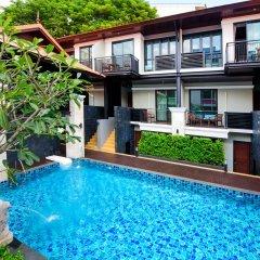 Отель Yotaka Boutique Бангкок бассейн