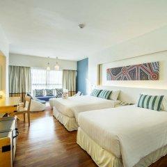 Отель Jomtien Palm Beach Hotel And Resort Таиланд, Паттайя - 10 отзывов об отеле, цены и фото номеров - забронировать отель Jomtien Palm Beach Hotel And Resort онлайн комната для гостей фото 5