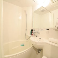 Отель APA Hotel Higashi-Nihombashi-Ekimae Япония, Токио - отзывы, цены и фото номеров - забронировать отель APA Hotel Higashi-Nihombashi-Ekimae онлайн ванная