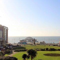Отель Artist Residence Великобритания, Брайтон - отзывы, цены и фото номеров - забронировать отель Artist Residence онлайн пляж
