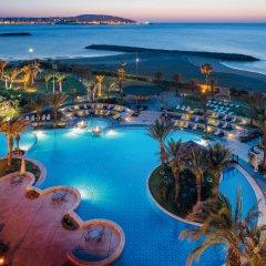 Отель Movenpick Hotel & Casino Malabata Tanger Марокко, Танжер - отзывы, цены и фото номеров - забронировать отель Movenpick Hotel & Casino Malabata Tanger онлайн бассейн
