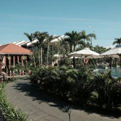 Отель Silk Sense Hoi An River Resort пляж