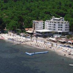 Отель CLASS BEACH MARMARİS пляж фото 2