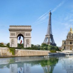 Отель Kleber Champs-Élysées Tour-Eiffel Paris бассейн
