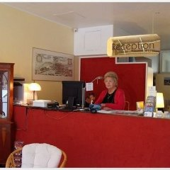 Отель Apartmenthaus Sybille Hecke интерьер отеля