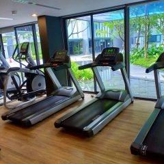 Отель Patong Beach Luxury Condo фитнесс-зал фото 3