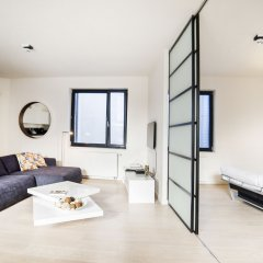 Апартаменты Apartments Smartflats Saint-Géry Garden Flats Брюссель комната для гостей фото 4