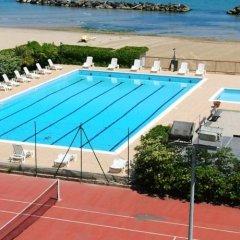 Отель Residence Eurhotel Монтезильвано спортивное сооружение
