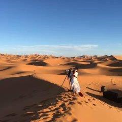Отель Galaxy Desert Camp Merzouga Марокко, Мерзуга - отзывы, цены и фото номеров - забронировать отель Galaxy Desert Camp Merzouga онлайн приотельная территория фото 2