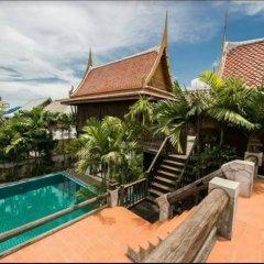 Отель Sanporn Private Pool Villa Паттайя бассейн