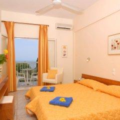 Отель Ipsos Beach Корфу комната для гостей