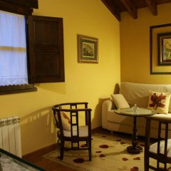 Отель C.A. Heredad de la Cueste Кангас-де-Онис комната для гостей