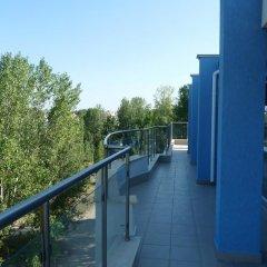 Апартаменты Sofia Apartments in Sunny Residence балкон