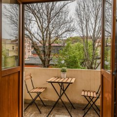 Апартаменты FM Deluxe 1-BDR Apartment - Iconic Donducov Boulevard София балкон фото 2