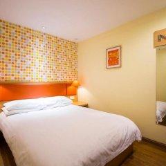 Отель Home Inn Beijing Beihai Xi'an Gate Китай, Пекин - отзывы, цены и фото номеров - забронировать отель Home Inn Beijing Beihai Xi'an Gate онлайн комната для гостей фото 4
