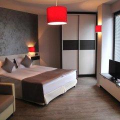 Отель Gran Via Болгария, Бургас - 5 отзывов об отеле, цены и фото номеров - забронировать отель Gran Via онлайн комната для гостей фото 5