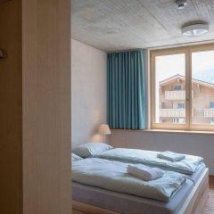 Отель Youth Hostel Gstaad Saanenland Швейцария, Гштад - отзывы, цены и фото номеров - забронировать отель Youth Hostel Gstaad Saanenland онлайн комната для гостей фото 3